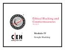 Module IV Google Hacking