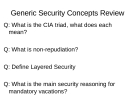 Security+ questions
