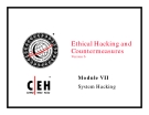 Module 07 System Hacking