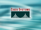 Cisco Systems - Redundant topology overview