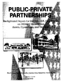Public-Private Partnerships - Background Papers for the U.S.-U.K. Conference on Military Installation Assets, Operations, and Services