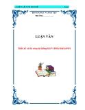 LUẬN VĂN:  Thiết kế và thi công hệ thống Kit Vi Điều Khiển 8951
