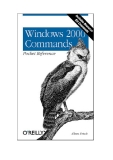 Windows 20000 Commands Pocket Reference