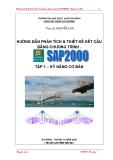 HƯỚNG DẪN PHÂN TÍCH VÀ THIẾT KẾ KẾT CẤU BẰNG CHƯƠNG TRÌNH SAP2000