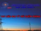 Cơ cấu đo tỷ số điện động