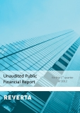 Unaudited Public Financial Report for the 1st  quarter of 2012