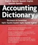 THE ACCOUNTING DICTIONARY