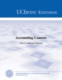Accounting Courses  (Not a Certificate Program)