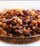 Lợi ích dinh dưỡng từ nho khô