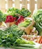 10 Thực phẩm cải thiện thị lực khi về già