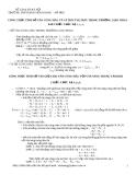 CÔNG THỨC TÍNH SỐ VÂN CÙNG MÀU VÀ VỊ TRÍ CÙNG MÀU TRONG TRƯỜNG GIAO THOA KHI CHIẾU 3 BỨC XẠ λ1,λ2,λ3