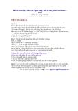 Đề thi Giao dịch viên vào Ngân hàng TMCP Xăng dầu Petrolimex – PGB (Thi vào tháng 3/2010)