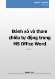 Đánh số và tham chiếu tự động trong MS Office Word