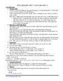 Tổng hợp kiến thức cơ bản hoá học 8