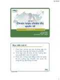 Chiến lược chiêu thị quốc tế