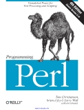Programming Perl, 4th Edition