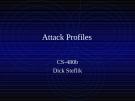 Attack Profiles
