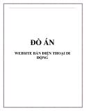 ĐỒ ÁN WEBSITE BÁN ĐIỆN THOẠI DI ĐỘNG
