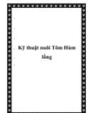 Kỹ thuật nuôi Tôm Hùm lồng