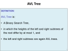Data Structures and Algorithms - Chapter 7b: AVL Tree