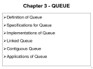 Data Structures and Algorithms - Chapter 4:QUEUE