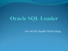 Oracle SQL Loader