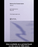 SCIENCE FOR CONSERVATORS Volume 1 An Introduction to MATERIALS Conservation Science Teaching Series