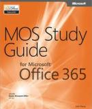 MOS Study Guide Office 365