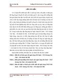Báo cáo thực tập tổng hợp ngân hàng HD Bank - PGD Hoàng Văn Thái – Chi nhánh Hà Nội