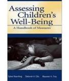 Assessing childrens well being a handbook of measures