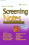 Screening Notes Rehabilitation Specialist's Pocket Guide
