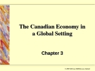 The Canadian Economy in  a Global Setting