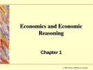 Economics and Economic Reasoning