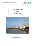 Báo cáo phân tích ngành vận tải biển