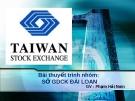 Sở giao dịch chứng khoán Đài Loan