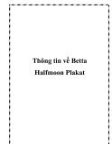 Thông tin Betta Halfmoon Plakat