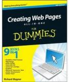 Creating Web Pages All-in-One For Dummies,4th Edition