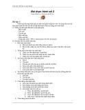 Cấu trúc dữ liệu và giải thuật Bài tập 2