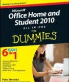 Office home and student 2010 all- in -on For Dummie