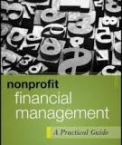 FINANCIAL MANAGEMENT GUIDE  FOR  NON-PROFIT ORGANIZATIONS