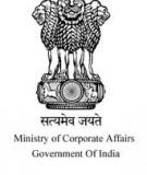 MINISTRY OF CORPORATE AFFAIRS: Notification