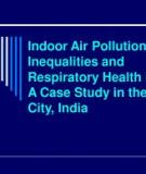Respiratory health effects of indoor air pollution