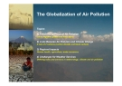 The Globalization of Air Pollution