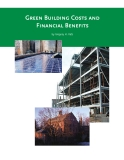 Green Building Costs and Financial Benefits