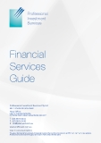 Professional  Investment  Services: Financial  Services  Guide