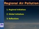 Regional Air Pollution