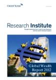 GLOBAL WEALTH REPORT 2012