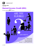 Earned Income Credit (EIC) For use in preparing 2011 Returns
