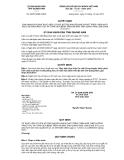 Quyết định số 35/2012/QĐ-UBND