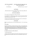 Quyết định số 1909/QĐ-TTg